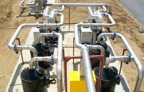 HDPE filtri – biogāzes attīrīšanas sistēma