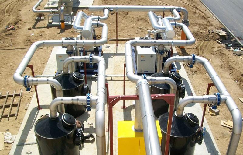 Biogāzes attīrīšana